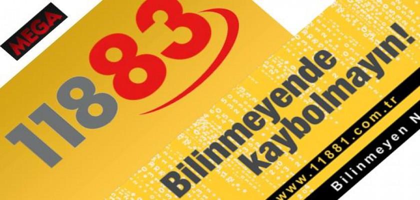 Türkiye'deki 11881 ve 11883 İlk ve Tek Uluslararası Bilinmeyen Numaralar Servisi