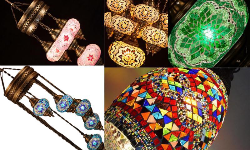 Mozaik Duvar Lambası Modelleri