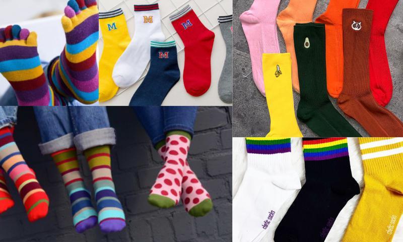 Renkli Çoraplar Çok Seviliyor