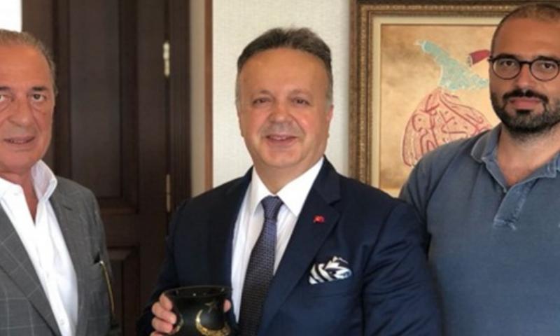 Aygün Alüminyum'dan Türkiye İhracat Meclisi Başkanı Sayın İsmail Gülle'ye ziyaret