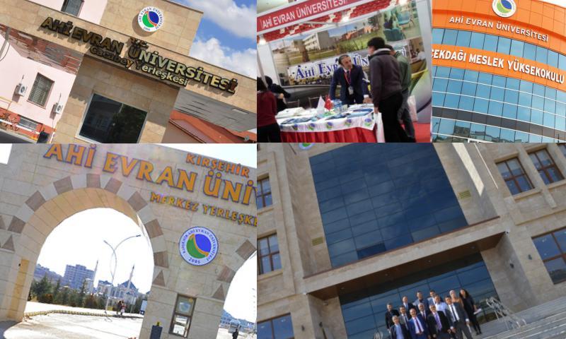 Ahi Evran Üniversitesinde 5 Yeni Bölüm Daha Açıldı